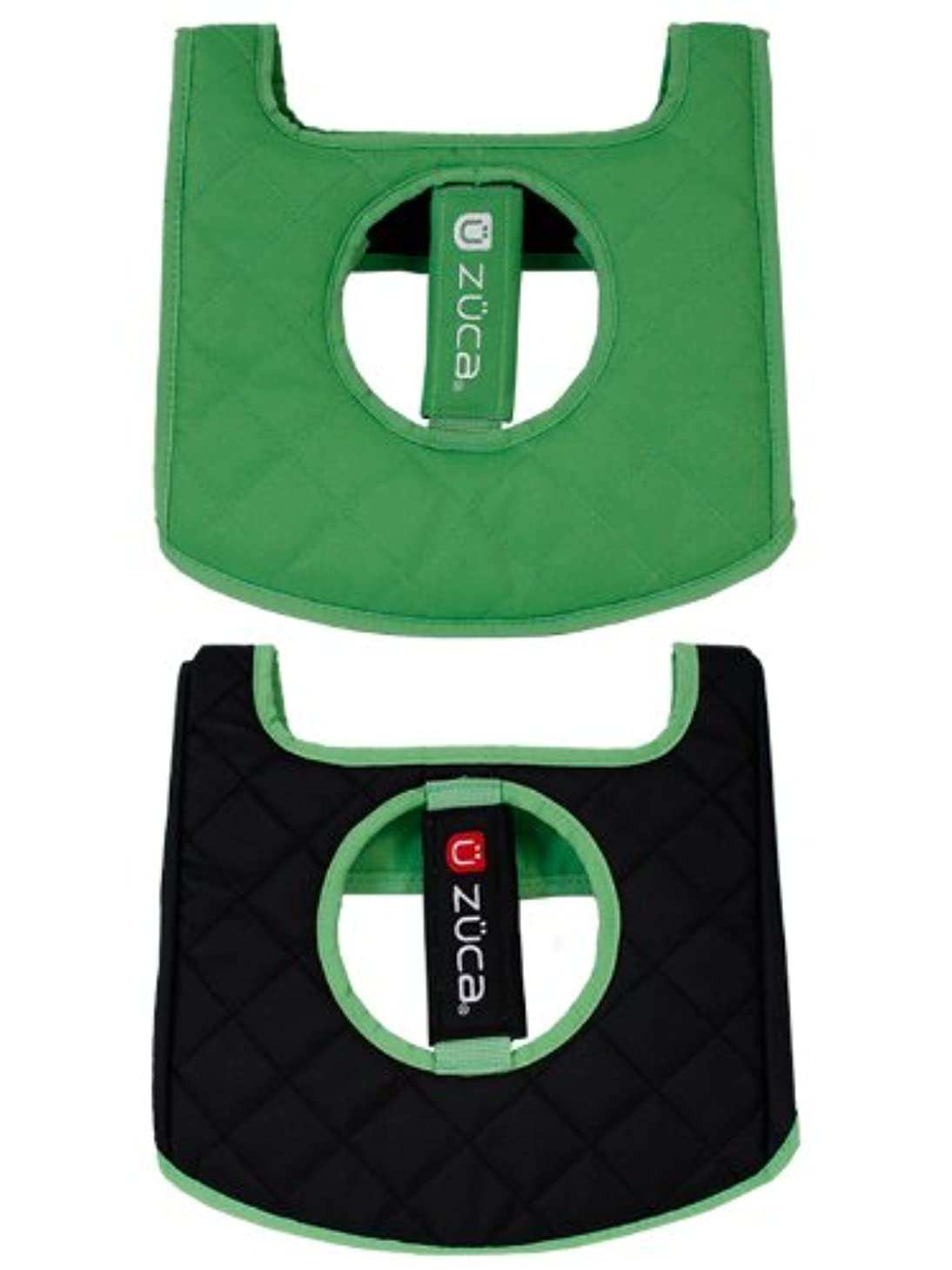 Zuca Seat Cushion Reversible Black Green 89055900391