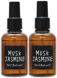 【2個セット】ノルコーポレーション John's Blend ヘアボディミスト OA-JON-11-6 ムスクジャスミンの香り 105ml