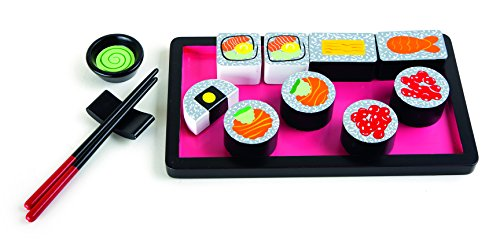 Small Foot - 10153 - Set de Sushi en Bois