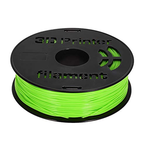 Auartmetion 1pc 1.75mm Flexible TPU 3D-Drucker Filament 1.75mm 1 kg/Spool 3D-Druck Flexible TPU-Material Zubehör for 3D-Drucker Drawing Pens (Farbe : Grün)