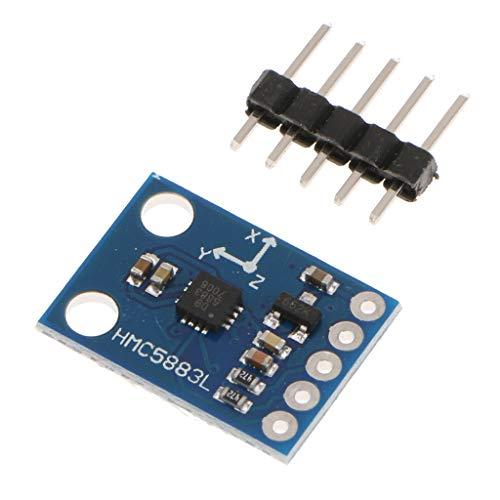 GAZECHIMP 3.3V-5V 3- 컴퍼스 자력계 센서 모듈