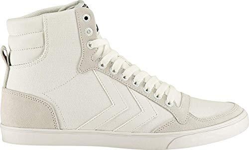 hummel Slimmer Stadil Tonal High, Sneaker a Collo Alto Unisex-Adulto, Bianco (White 9001), 37 EU
