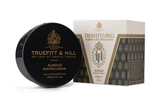 Truefitt & Hill Shaving Cream Bowl- Almond (6.7 ounces)