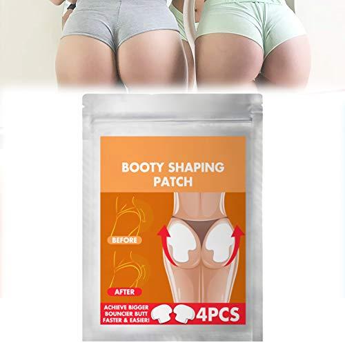 znvwki 2/4pcs Pro Butt-Lift Shaping Patch Set, Booty Shaping Patch, Hip Lift Shaping Patch Set Beauty Butt Enhancement, Natural Growth Get Plump Hips, Achieve Bigger Bouncier Butt Faster & Easier