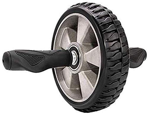 YYhkeby NO Logo Bauchtrainer Ab Roller Laufrad Roller Männer Startseite Folding Fitness Bauch Mute Bauch Rad for Abs Workout Ab Roller Rad Übungs-Ausrüstung Jialele (Color