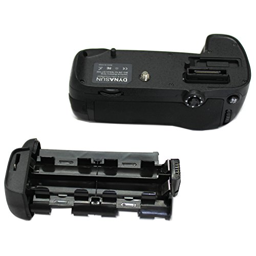 Empuñadura DynaSun D15 Battery Grip para D7100 Compatible con MB D15 MBD15 con 2 adaptadores para alimentación