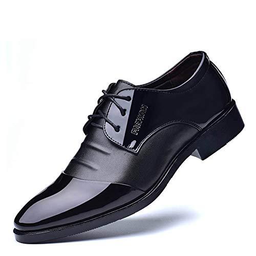 Qianliuk Herren Abendschuhe Frühlingshochzeitsschuhe Leder Oxford Schuhe Abendschuhe für Herren