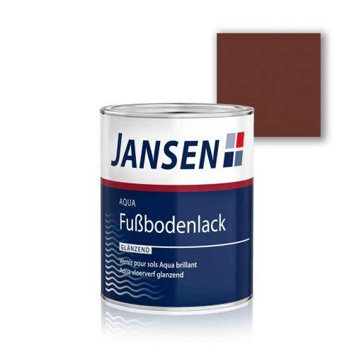 Jansen Aqua Fußbodenlack rotbraun 0,75l