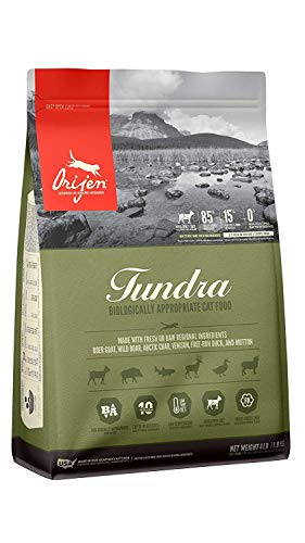 Orijen Tundra for Cats 4Lbs