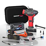 Smartech TECH-5000P Automotive Emergency Power Kit & Jump Starter, 6-Way Functionality, Jump Start Vehicles, Powers 12V Appliances, Recharge Electronics & Laptops, Includes Air Pump & LED Flashlight