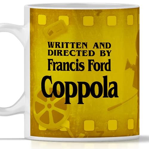 Taza con diseño de película escrita y directa del director Francis Ford Copola.