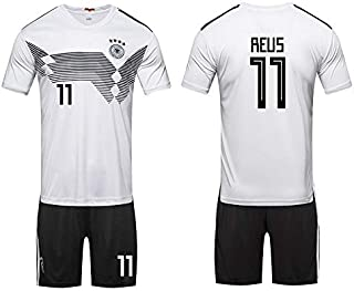 World Cup Football Jersey Germany Team No.11 Reus Football suits Short-sleeved T-shirt -code