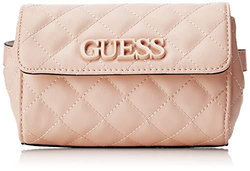 Guess - Elliana Belt Bag, Mujer, Negro (Blush), 17.5x11.5x5.5 cm (W x H L)
