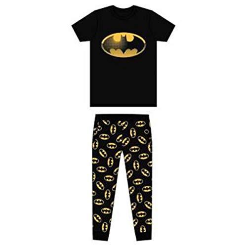 DC, BATMAN - Pijama - Hombre Negro Negro Large