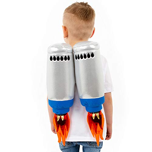 Kids Jet Pack Accessory, 3+ Years, High Quality Soft Play Toy - Pretend Play Fancy Dress Kids Costume, Soft Play Toys for Kids | Fancy Dress for Kids & Toddlers by Pretend to Bee