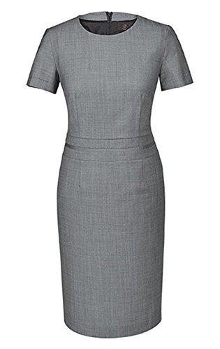 GREIFF Damen-Etuikleid Regular Fit, modern with 37,5, Regular fit, 1714, hellgrau, Größe 34