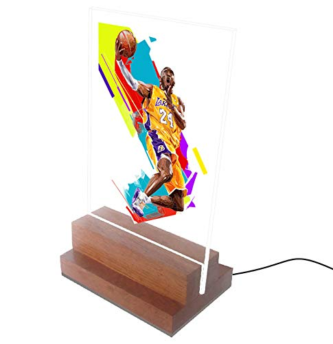 Abajur e Luminária - Basquete - NBA - Kobe Bryant