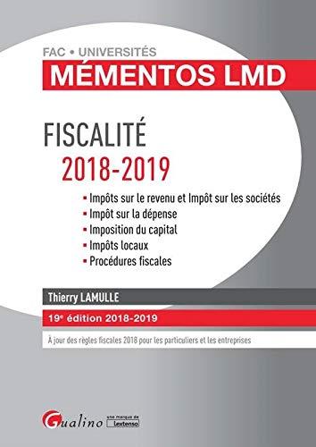 Fiscalité 2018-2019