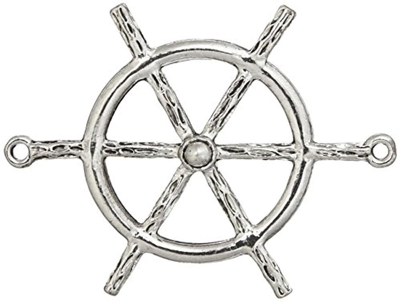 Jolee's Boutique Sailors Wheel Crystal Pendant