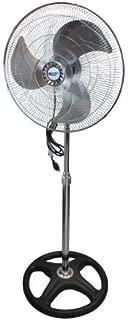 Comfort Zone CZHVP18EX High-Velocity 3-Speed 18-inch Industrial Oscillating Pedestal Fan with Adjustable Tilt