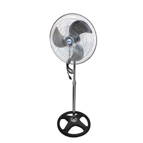 CCC Comfort Zone Adjustable Oscillating Pedestal Fan | 3 Speed, Standing Fan with Powerful Air Distribution