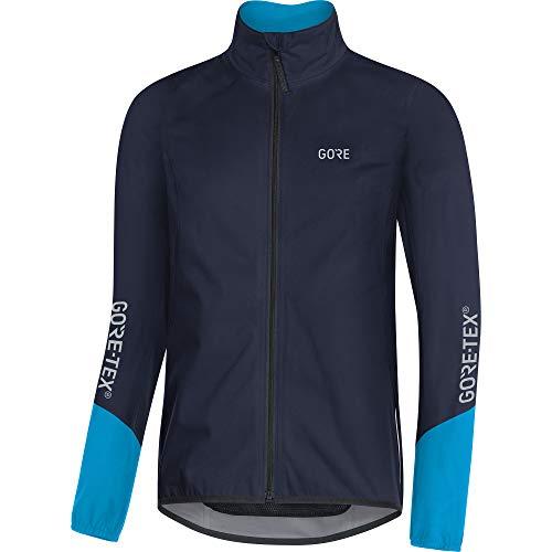 GORE WEAR Herren Fahrrad-Jacke, C5, GORE-TEX Active, S, Marineblau/Blau