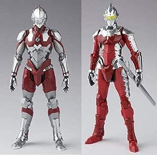 Bandai Tamashii Nations S.H. Figuarts Ultraman The Animation Netflix Ultraman & Ver. 7 Set of 2 Figure