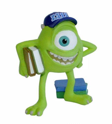 Bullyland 12582 - Spielfigur, Disney Pixar Die Monster AG, Mike Glotzkowski, ca. 6,6 cm, ideal als Torten-Figur, detailgetreu, PVC-frei, tolles Geschenk für Kinder zum fantasievollen Spielen