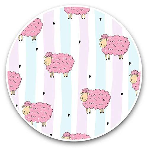 Fantastico adesivo in vinile (set di 2) 30 cm – divertente motivo pecore rosa animali della fattoria animali da fattoria per computer portatili, tablet, bagagli, prenotazione di rottami, frigorifero, ottimo regalo #45109