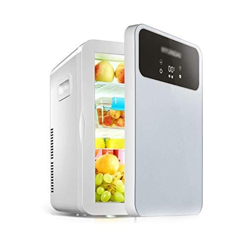 GOHHK Tragbarer Mini-Kühlschrank 20L Autokühlschrank Mini-Esszimmer mit gekühltem Kühlschrank Haushaltsschlafsaal Autohaus Dual-Use-Heizung Haus- und Reisekühlschränke