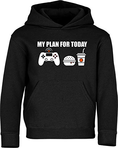 Sudadera con Capucha: My Plan for Today: Gaming - Gamer Pulóver -...