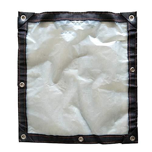 PENGFEI Bâche De Protection Transparent Épaissir Film Plastique Plante De Serre Résistant Au Froid Étanche À La Poussière, Polyéthylène, 18 Tailles (Couleur : Clair, taille : 2X2m)