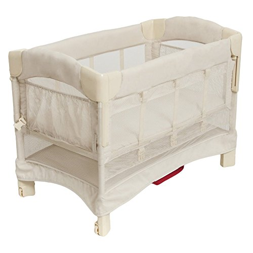 Arm's Reach Mini Euro Ezee 2 in 1 Solid Bassinet with Skirt Natural