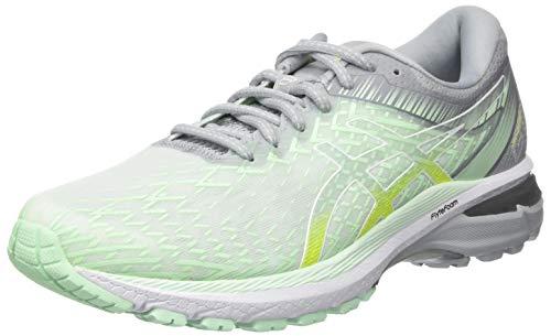 ASICS Womens GT-2000 8 Running Shoe, Vert Menthe Blanc, 39 EU