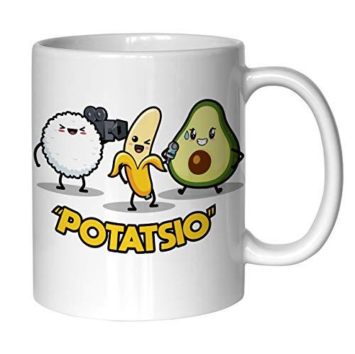 Taza Aguacate Potatsio Arroz Blanco - Aguacate Store