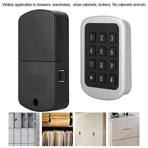 Elektronische lockerslotenset, huisbeveiliging wachtwoordcodeslot veiligheidsslot elektronisch kledingkastcombinatieslot voor laden, kasten, schoenenkasten, archiefkasten