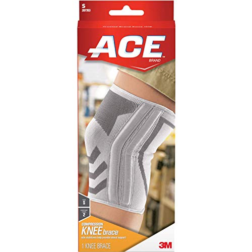 ACE Knitted Knee Brace with Side Stabilizers,...
