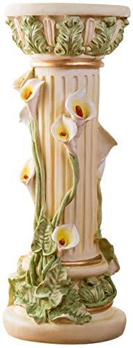 Générique Statues Sculptures Objets Décoratives Athéna Corinthian Meubles Colonne sur Pied Usine De Polyresin Meubles Résine Usine De Stand Ornements