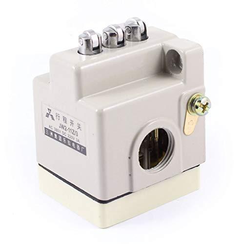 3NO 3NC 3 Interruttore di fine corsa di posizione di immersione a rullo parallelo JW2-11Z / 3 grigio per interruttore della porta stampante 3D Macinino CNC
