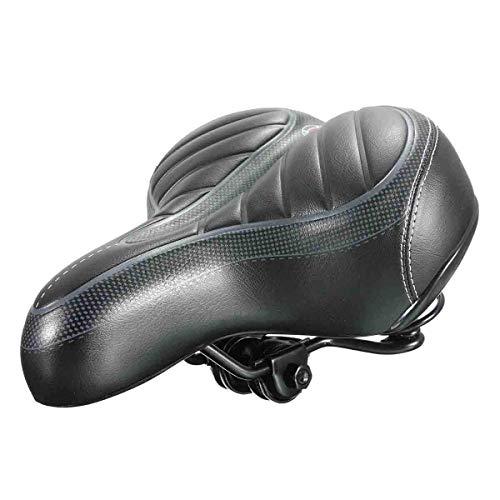 Fietszadel Fietszadel Dual-veer Dikke Soft Foam Wide Big MTB fietszadel Seat Comfort Sportief Pad Fiets van de Fiets Part