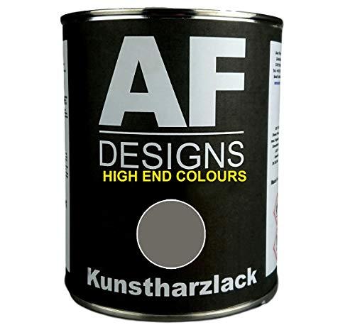 Alex Flittner Designs 1 Liter Kunstharzlack für O & K GRAU Chassis Maschinen LKW NFZ Lack Baumaschinen