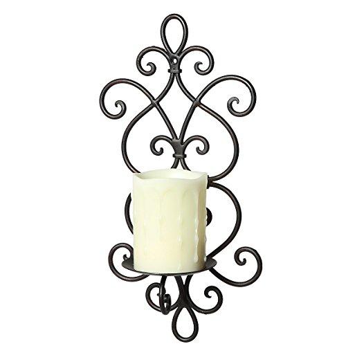 /N Softwarego 92086 - Lampada da parete, 36 cm, colore: Nero