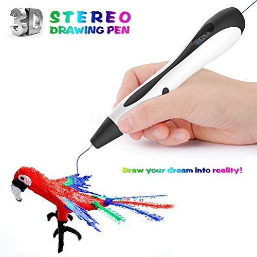 Gobbuy 3D pens 3D printing pens for children and adults for scribbling drawings and crafts