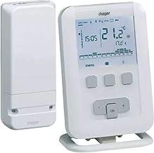 Hager EK560 Termostato Ambiente Programable Radio