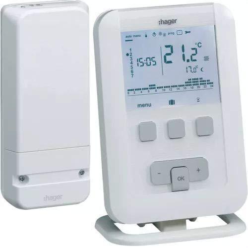 Hager - Ek560 - programmabile termostato ambiente, radio