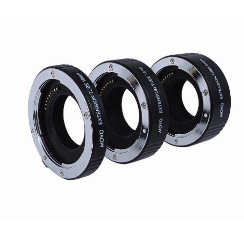 Juego de Tubos de Extensión Macro AF de Movo Photo para Cámaras sin Espejo Nikon 1, AW1,...