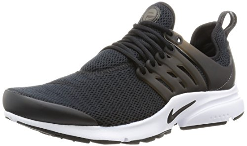 Nike Womens Air Presto Black/Black/White Running Shoe Sz, 11 B(M) US