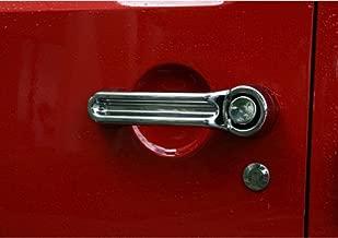 Mopar 4 Door Chrome Door Handle Kit for Dodge Nitro 2007-2011 Liberty Jeep