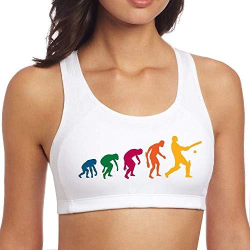 xcvgcxcvasda Chaleco, Dormir, Tops de Yoga Sujetadores Deportivos para Mujeres Yoga Gym Workout Fitness Bra Cricket Evolution Womens Gym Yoga Sport Bra