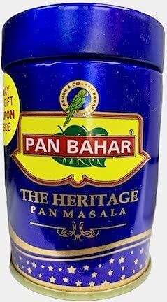 PAN BAHAR The Heritage Pan Masala 100gm Each Mouth Refreshner (Qty 4)